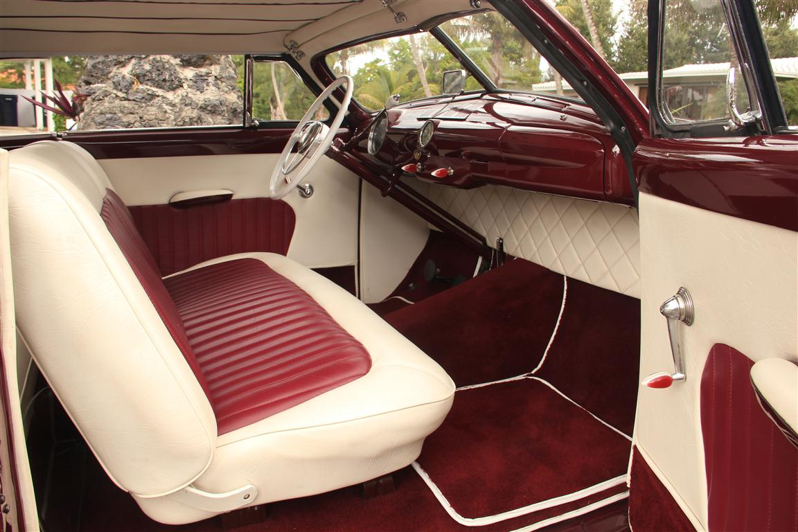 1950 Ford Shoebox Padded Top Traditional Kustom Miss Loved