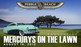 Pebble Beach Concours Mercury