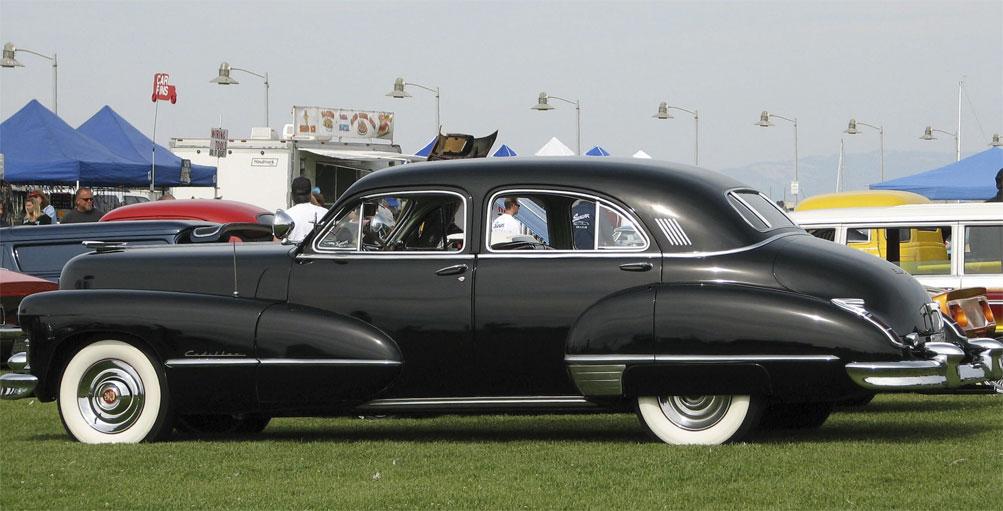 Digital Restyling 1947 Cadillac Coupe Custom Car