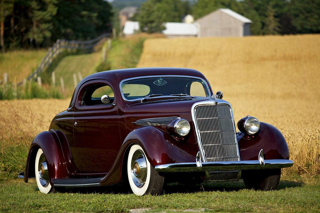 Sold 1935 Ford Coupe Custom Custom Car Chroniclecustom