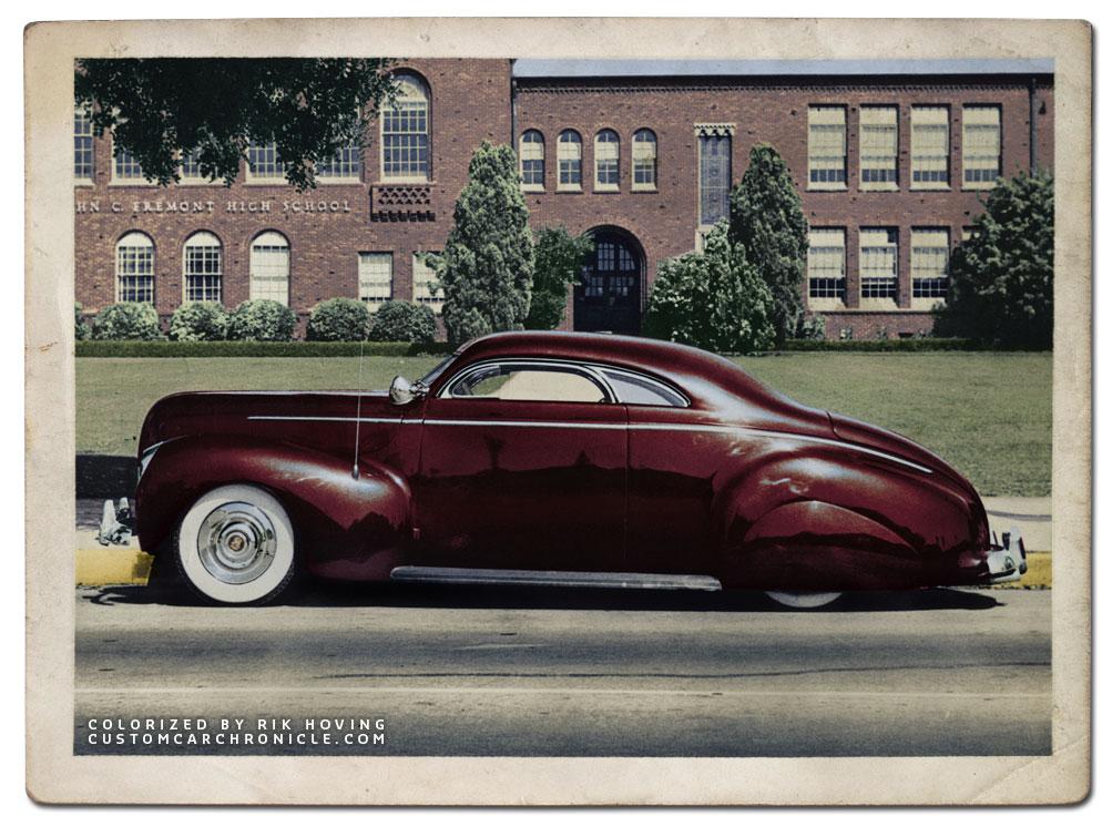 That Illustrious Sanguine 1940 Mercury Nick Matranga