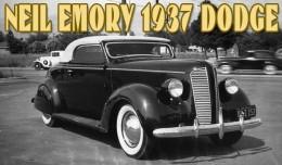 Neil Emory 1937 Dodge