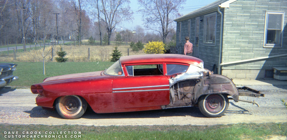 Dave Crook 1958 Pontiac Custom Car Chroniclecustom Car