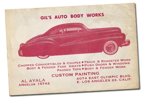 CCC-gil-ayala-1940-mercury-business-card