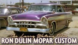 Larry Watson Ron Dulin