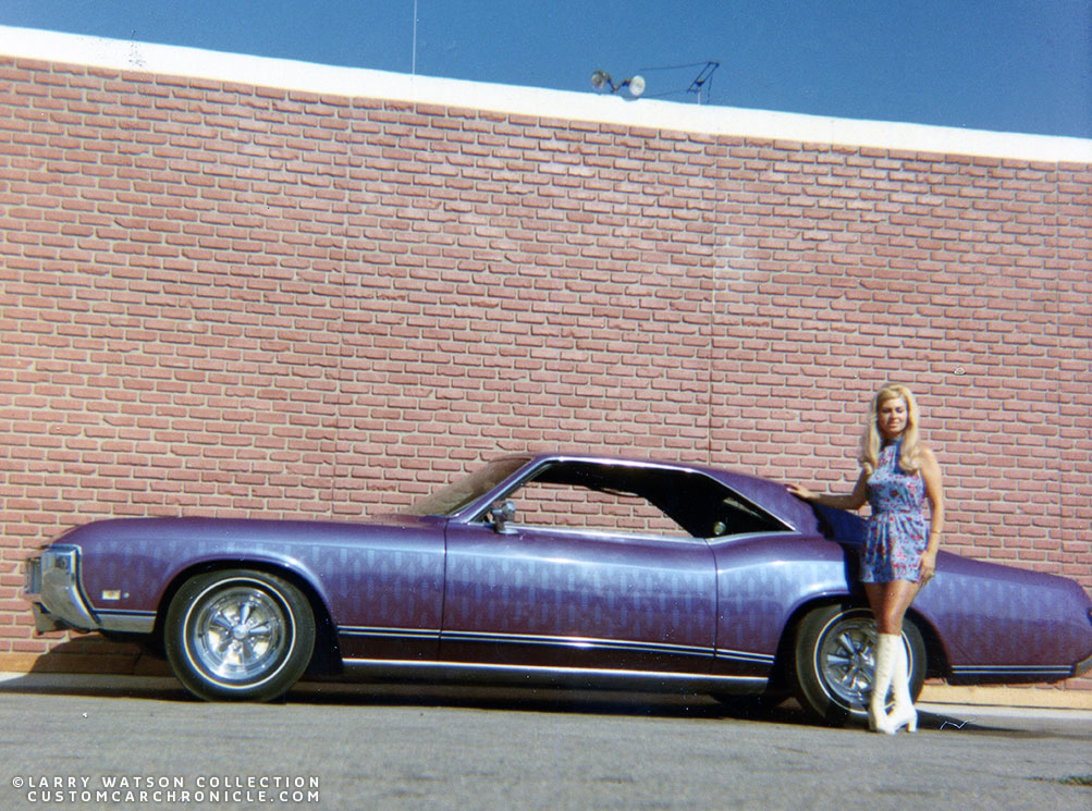 Cost To Repaint A Car >> Larry Watson Lace Painting - Custom Car ChronicleCustom ...