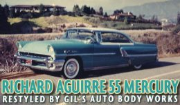 Richard Aguirre 55 Mercury