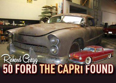 Richard Gregg 50 Ford The Capri