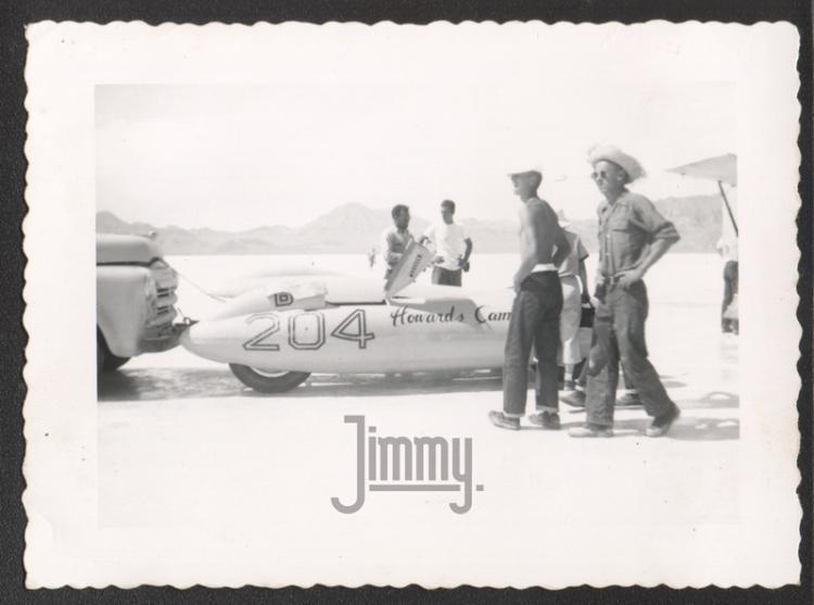 Harold Johanson Howard Cams streamliner 1954