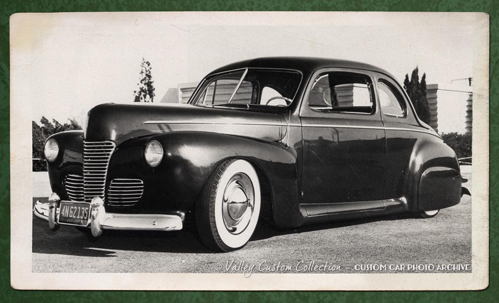Ed Jacques 1942 Ford Exquisite Custom Car Design Custom
