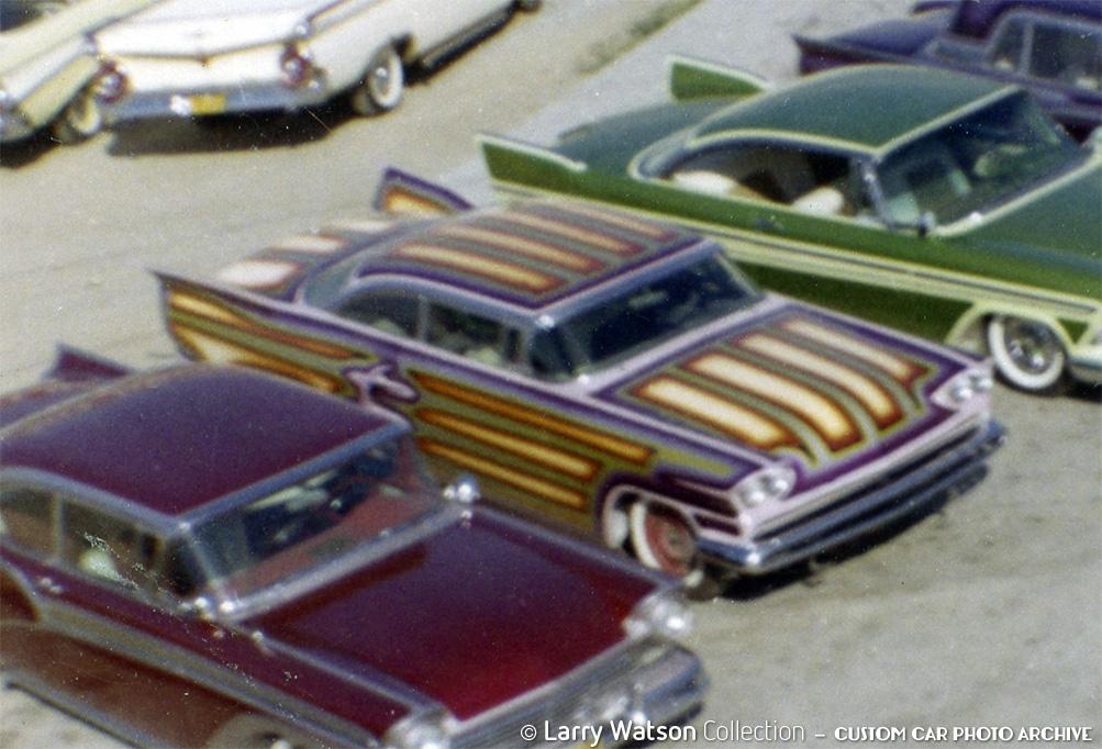 Dave Kyte S Watson Painted 1955 Mercury Custom Car