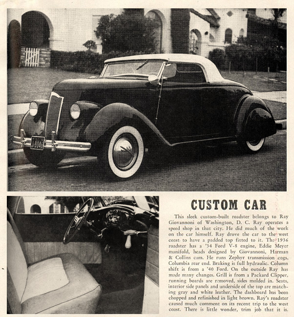 November 1948 issue of Hot Rod magazine.
