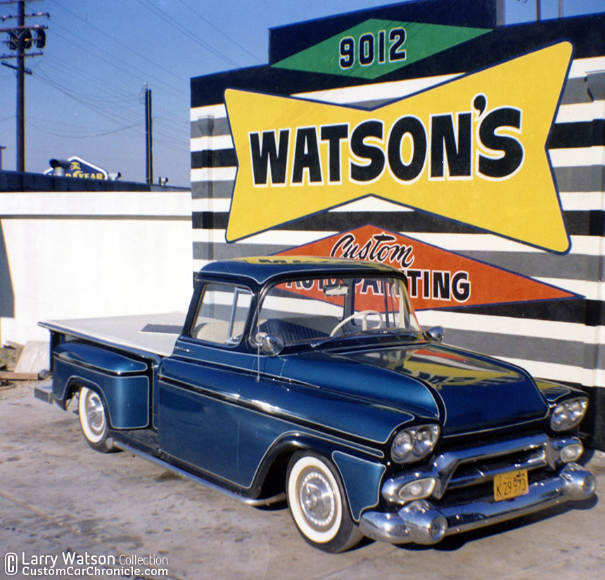 Watson 58 Gmc Custom Car Chroniclecustom Car Chronicle