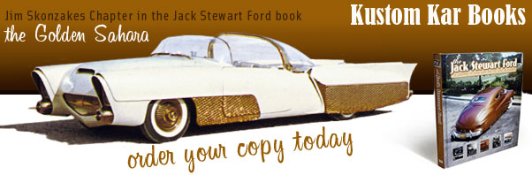 Kustom Kar Books Golden Sahara