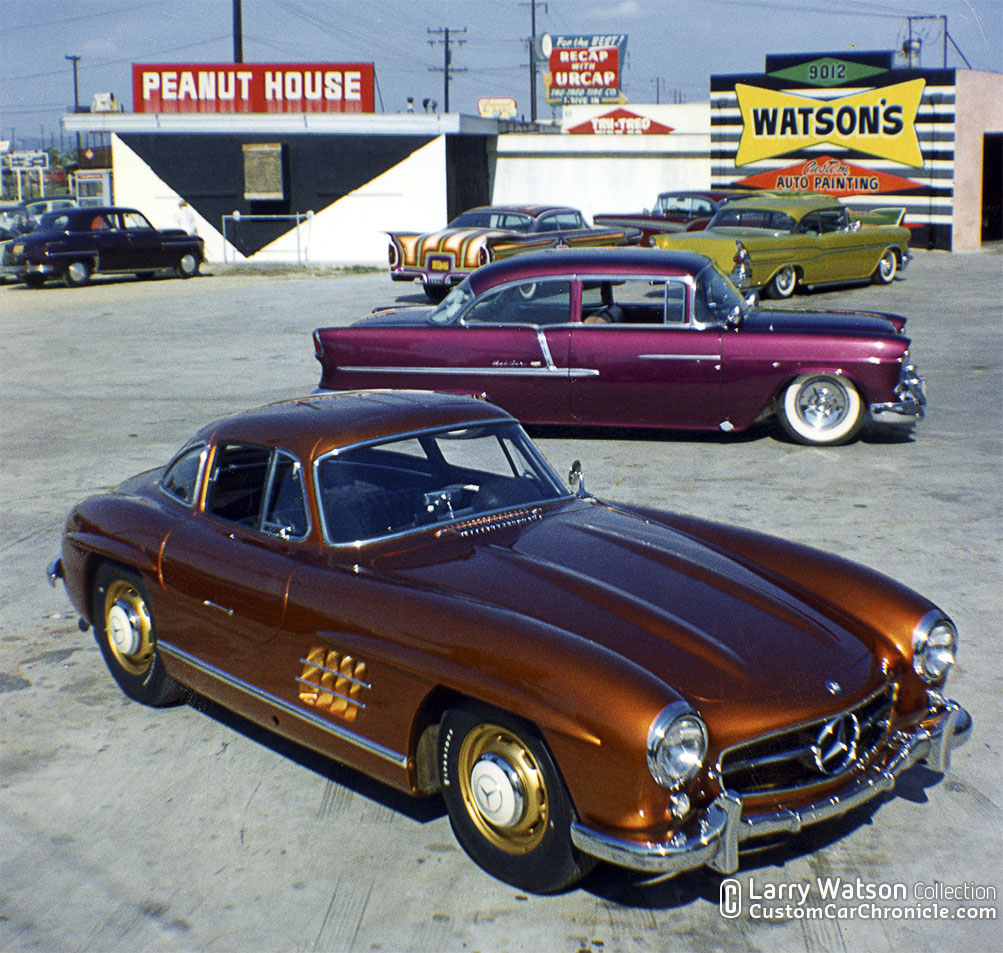 Larry Watson Painted Gullwing Mercedes At Custom Car
