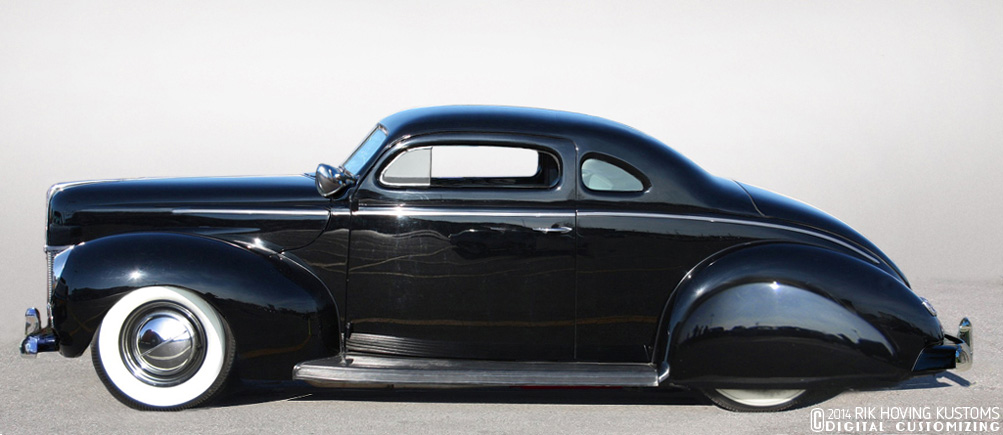Restyling The 1940 Ford Coupe Custom Car Chroniclecustom