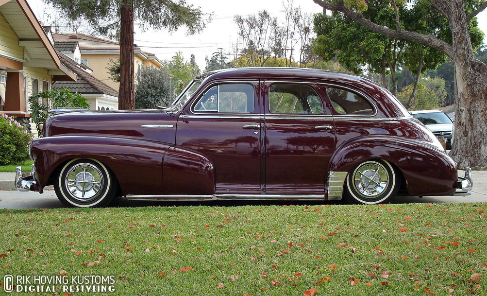 Restyling 4 Door 1948 Chevy Custom Car Chroniclecustom