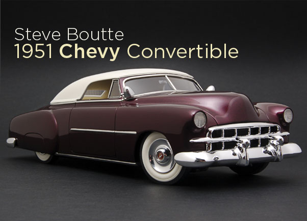 STEVE BOUTTES 1951 CHEVY