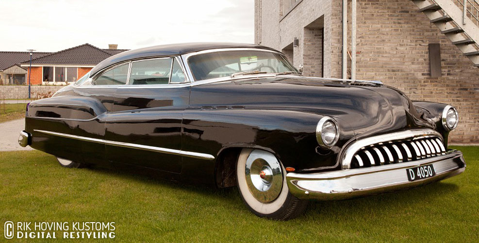 1950 Buick Digital Restyling Custom Car Chroniclecustom