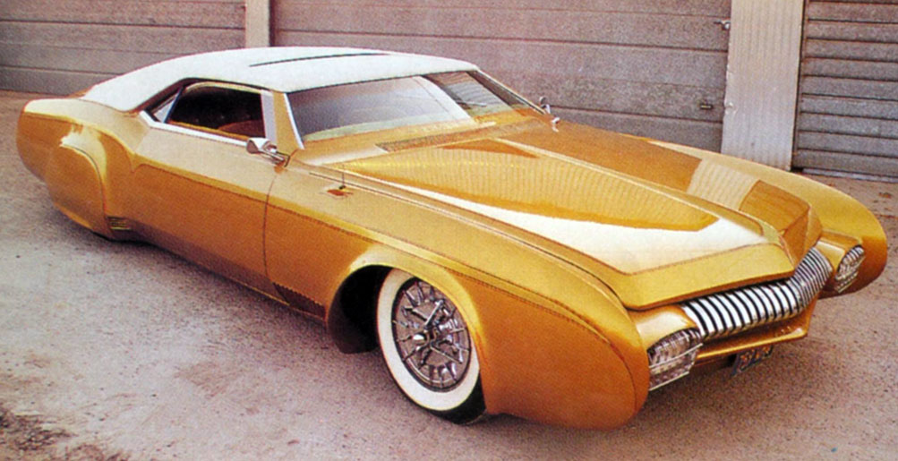 Used Cars Fresno Ca >> De Rosa Golden Piranha - Custom Car ChronicleCustom Car ...