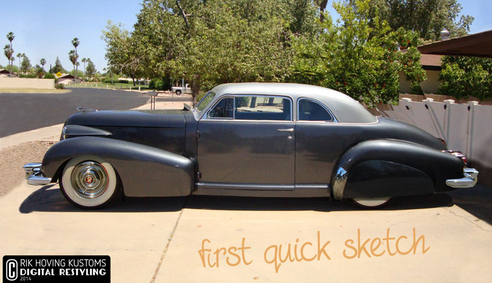 Digital Restyling 1939 Cadillac 60 - Custom Car ChronicleCustom Car