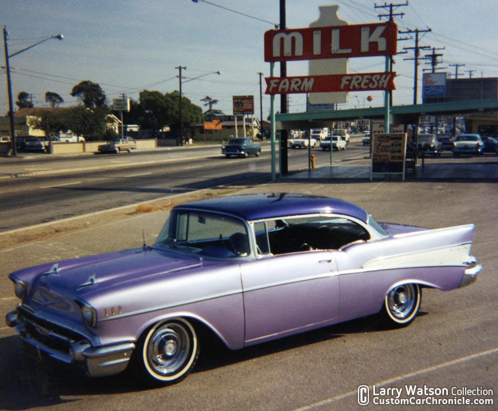 Larry Watson 57 Chevys Custom Car Chroniclecustom Chronicle Chevy Factory Colors Ccc 19