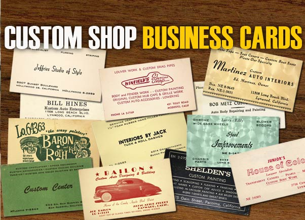 Custom shop business cards custom car chroniclecustom car chronicle custom shop business cards colourmoves