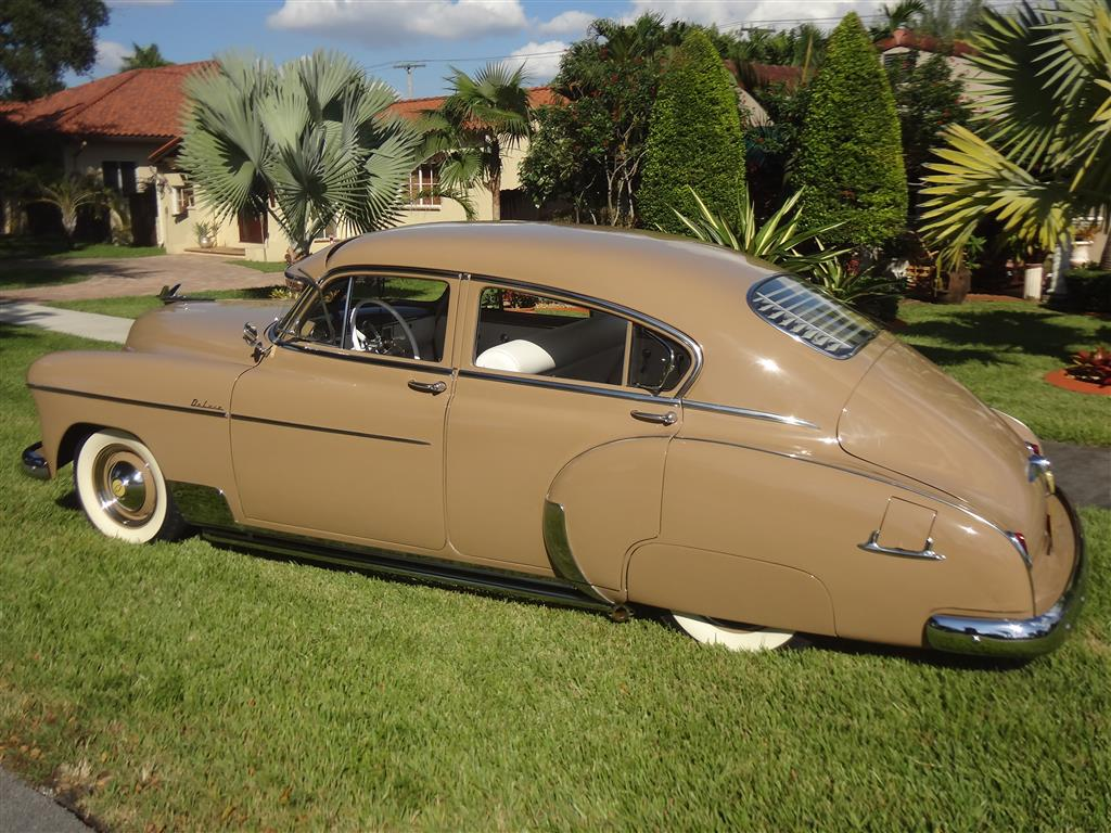 1950 Chevy Fleetline Deluxe Bomb Style Custom Car Chroniclecustom
