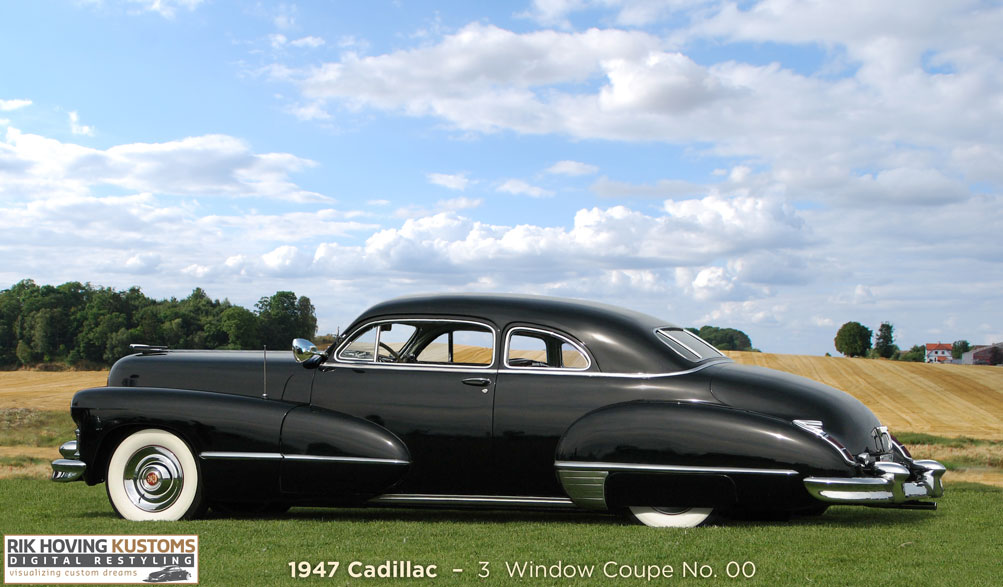 Digital Restyling 1947 Cadillac Coupe - Custom Car ChronicleCustom