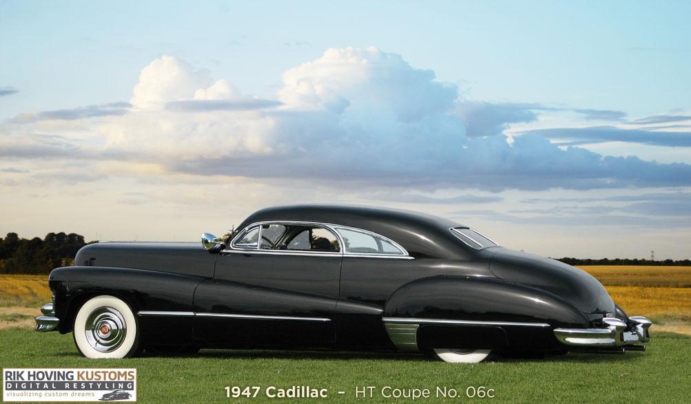 Digital Restyling 1947 Cadillac Coupe - Custom Car ChronicleCustom