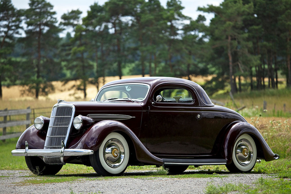 1936 Ford Coupe Parts For Sale >> SOLD 1935 Ford Coupe Custom - Custom Car ChronicleCustom Car Chronicle