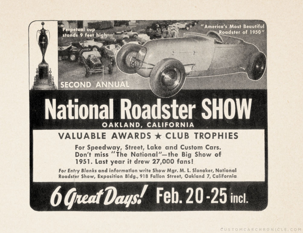 CCC-national-roadster-show-1951-ad