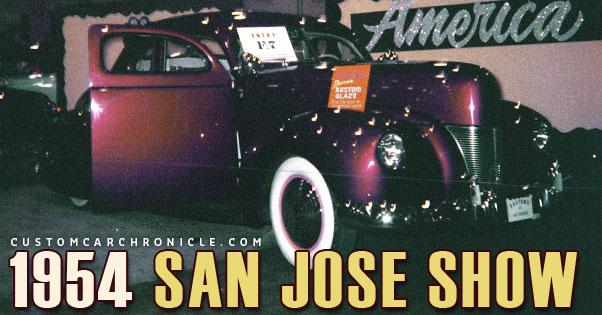 1954 San Jose Show Photos Custom Car Chroniclecustom Car