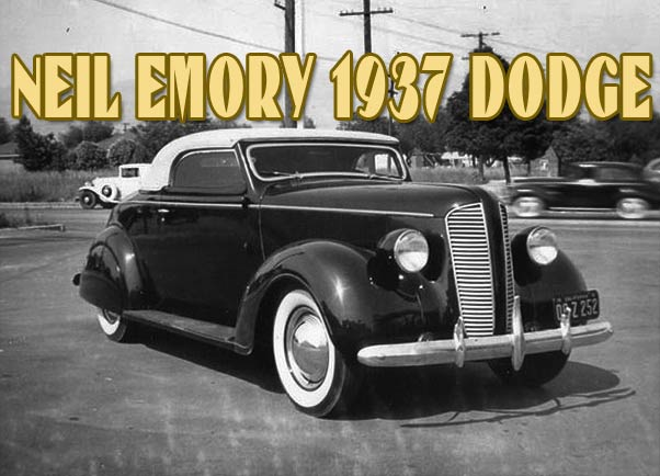 Neil Emory 1937 Dodge