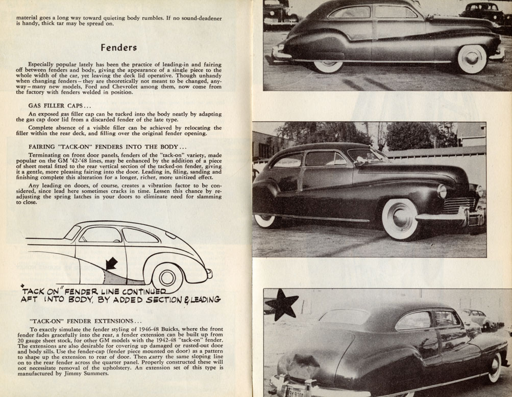 Fadeaway fenders - Custom Car ChronicleCustom Car Chronicle
