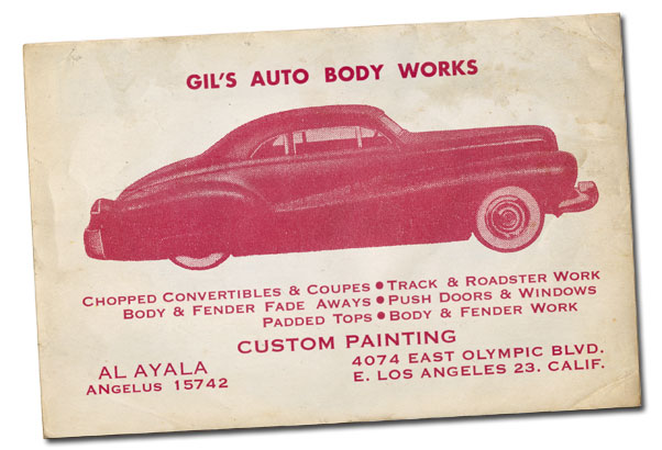 CCC-gil-ayala-1940-mercury-business-card