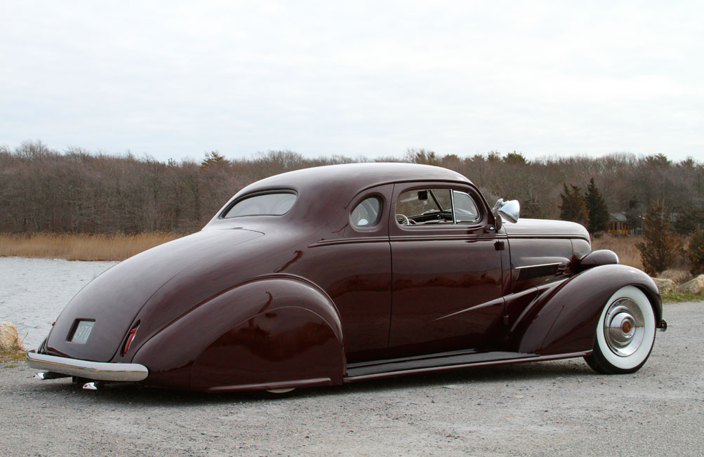 1937 Chevy Coupe Taildragger FOR SALE - Custom Car ...