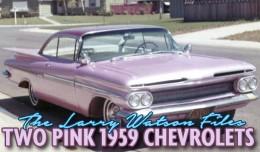 Larry Watson 59 Chevy