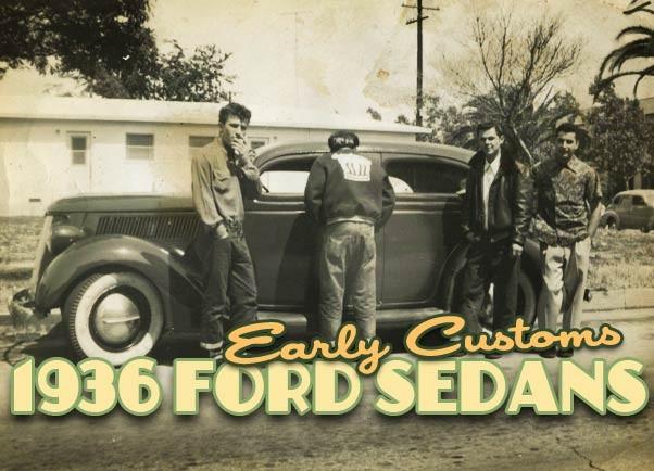 Custom 36 Ford Sedan
