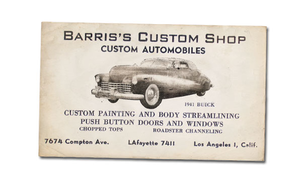 CCC-george-barris-1941-buick-businesscard