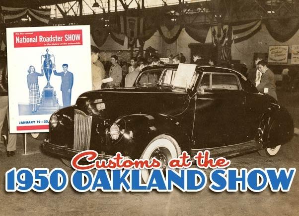 1950 Oakland Roadster show