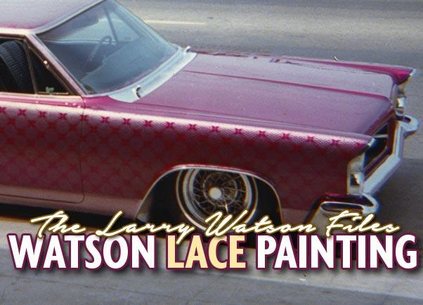 Larry Watson lace