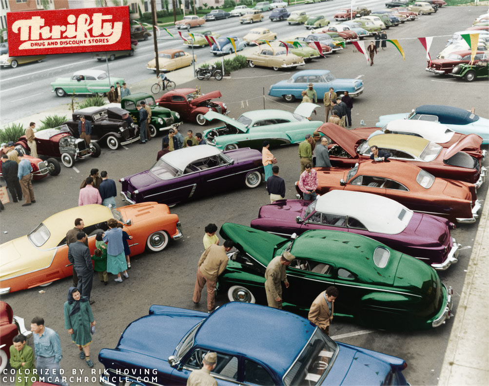 CCC-54-thrifty-parking-lot-show-colorized