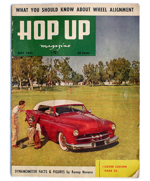 making the cover in full color on the very popular hop up magazine in may 1953 must have been huge for both al glickman as well as gil and al ayala