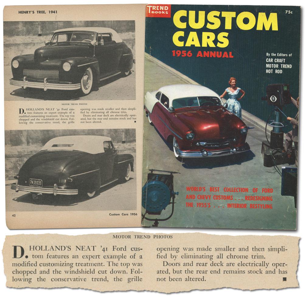 Don Holland 1941 Ford - Custom Car ChronicleCustom Car Chronicle