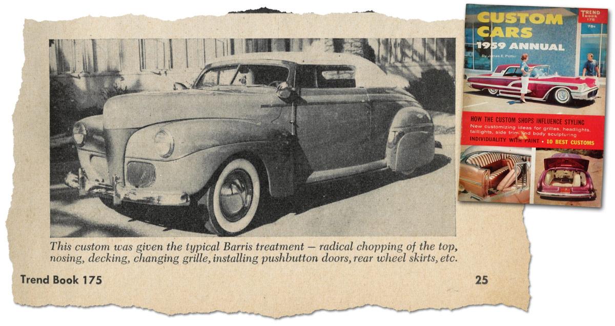 1941 Ford Mystery Convertible - Custom Car ChronicleCustom Car ...