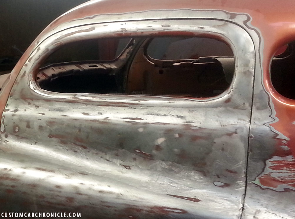 custom car door handles. This Is How The Door Looked On Outside. Holes Left From Handle And Lock Are Welded Shut Ayala Applied Lead Smoothed It All Out Custom Car Handles T