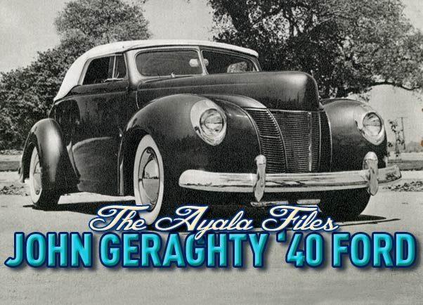 Ayala John Geraghty 40 Ford