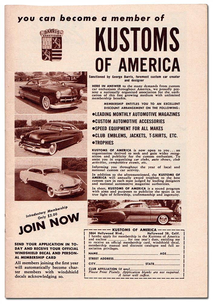 The Original Kustoms of America - Custom Car Chronicle