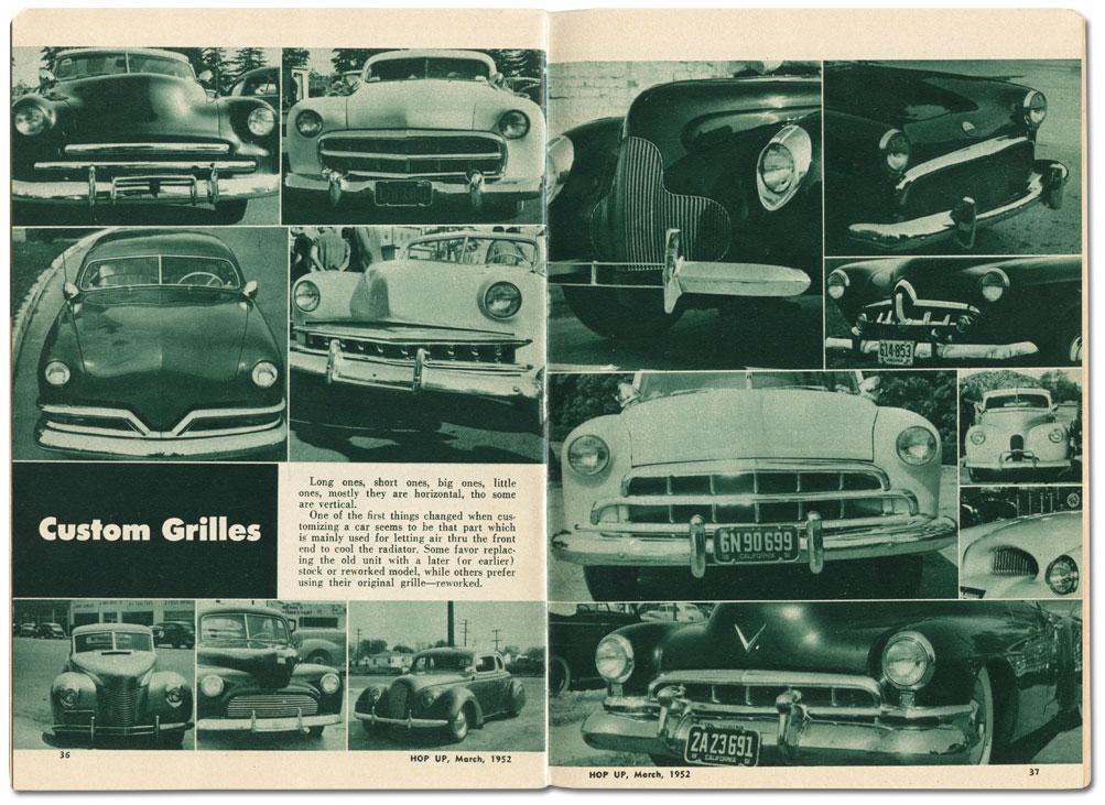 Horizontal Custom Grilles - Custom Car ChronicleCustom Car Chronicle